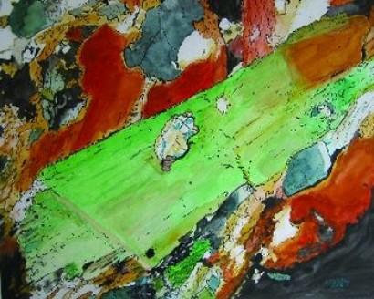 Biotitreicher Granulit